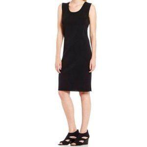 Ming Wang Dresses - 🆕Ming Wang Black Side Slit Sheath Dress Large